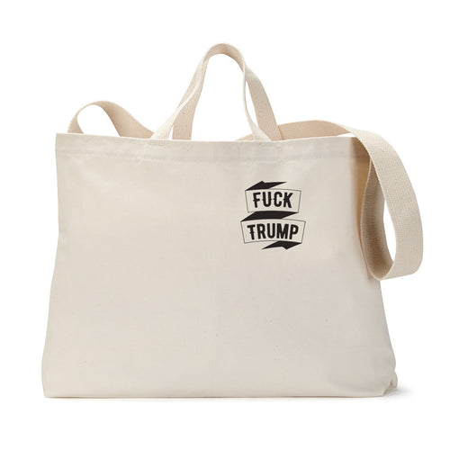 Eff Trump Pocket Tote Bag
