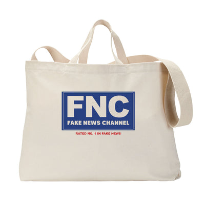 Fake News Tote Bag