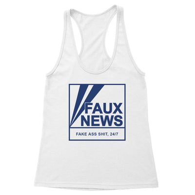 Faux News Women's Racerback Tank