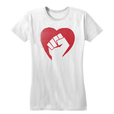 Hearts and Fists Women's Tee