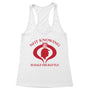 Not Knowing Women's Racerback Tank