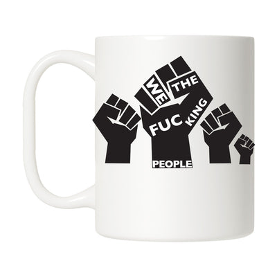 The People's Fist Mug