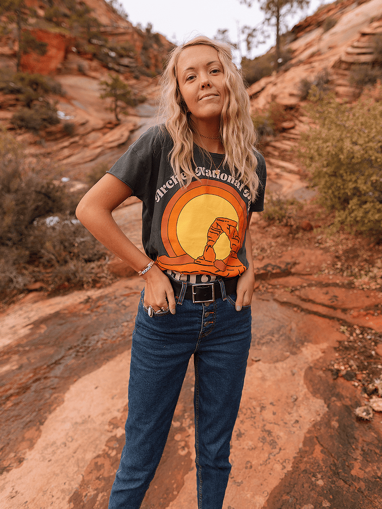 Indy Brand Clothing TEE ARCHES NATIONAL PARK TEE