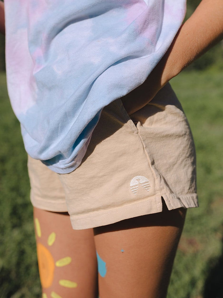Indy Brand Clothing BOTTOMS 🌈 Lake Short Beige 🌈