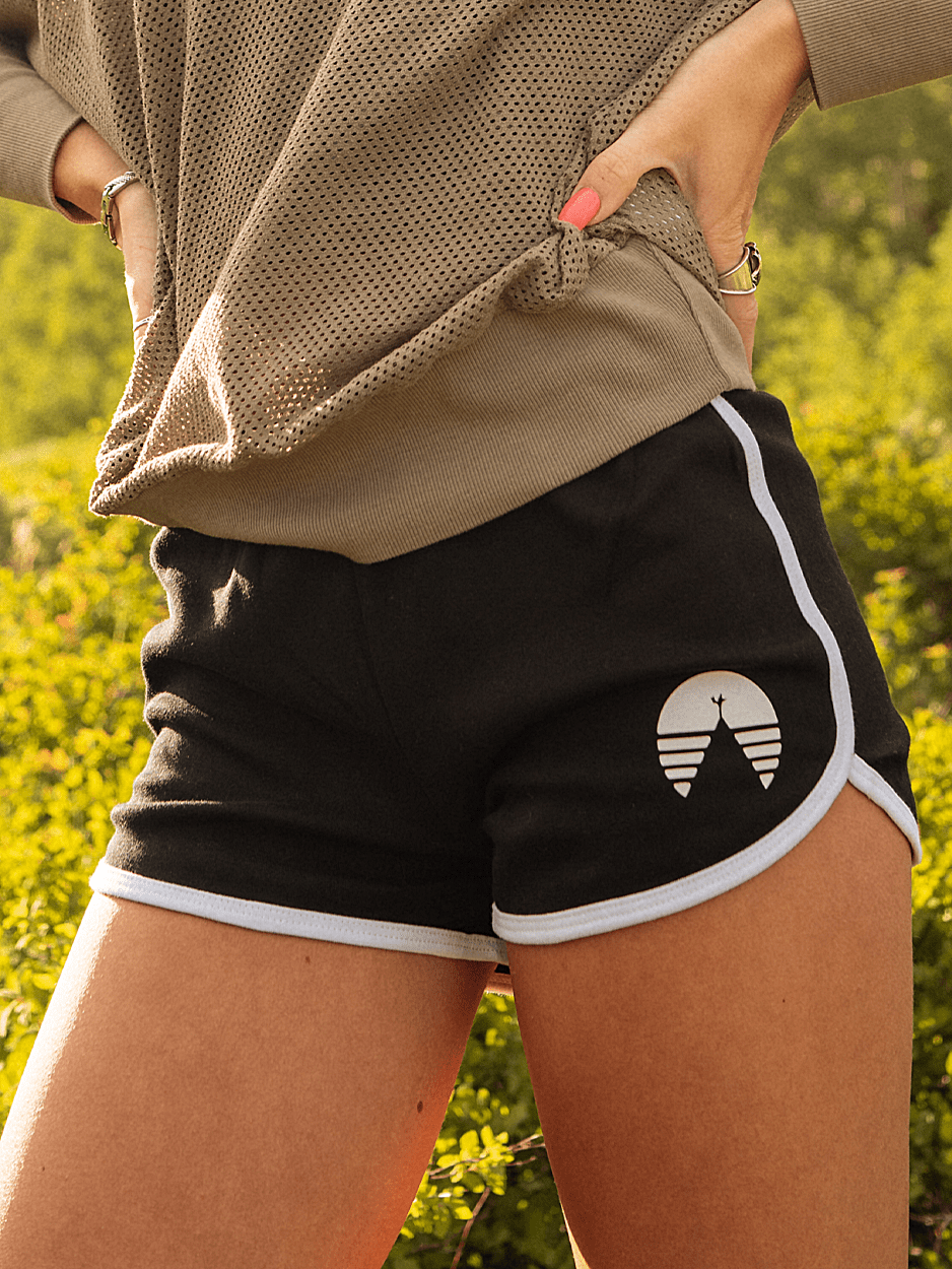 THAT 70'S CAMP SHORT | BLACK