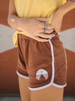 THAT 70'S CAMP SHORT | BROWN