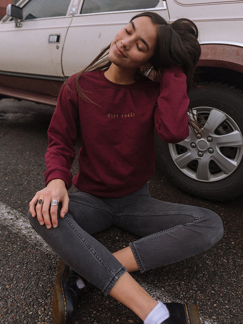DIRT ROADS SWEATSHIRT