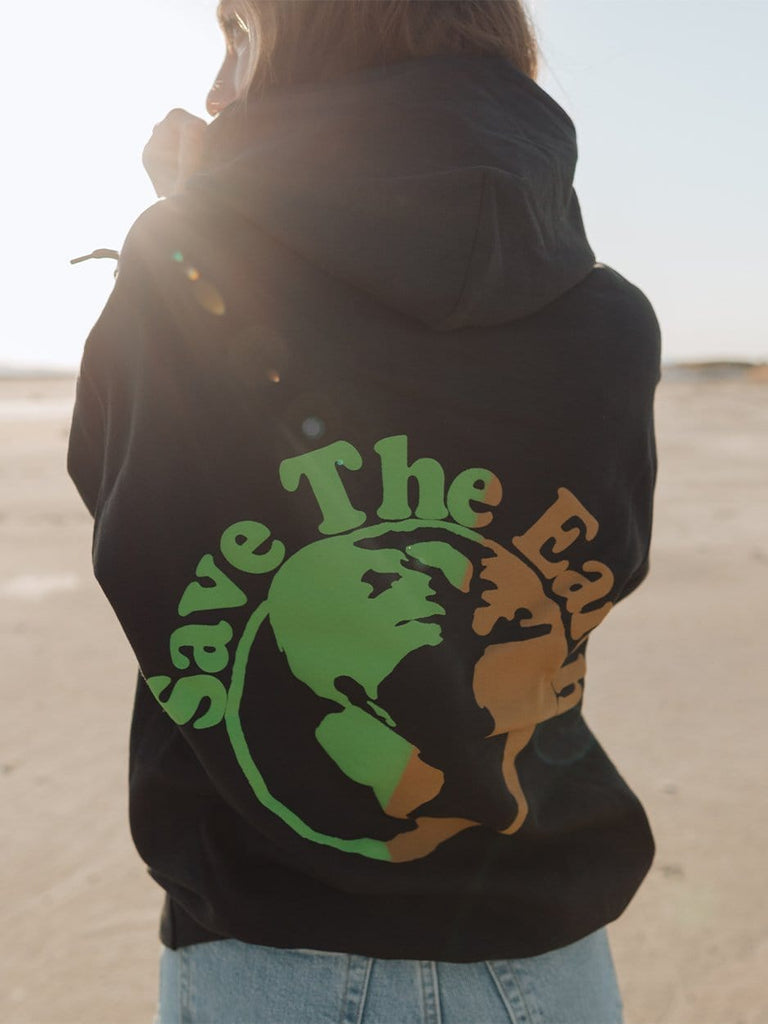 Indy Brand Clothing SWEATSHIRT S 🌍 Save The Earth Hoodie 🌍