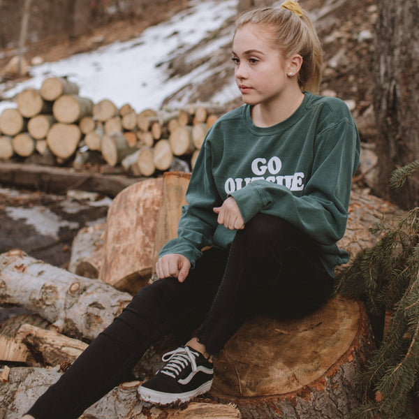 GO OUTSIDE SWEATSHIRT