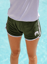 THAT 70'S CAMP SHORT | GREEN