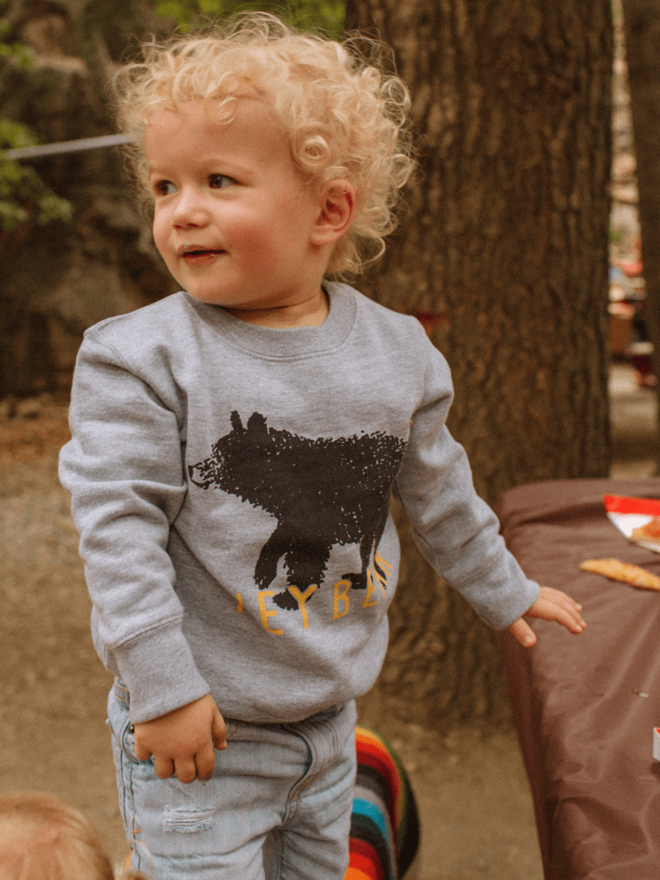 KIDS HEY BEAR SWEATSHIRT