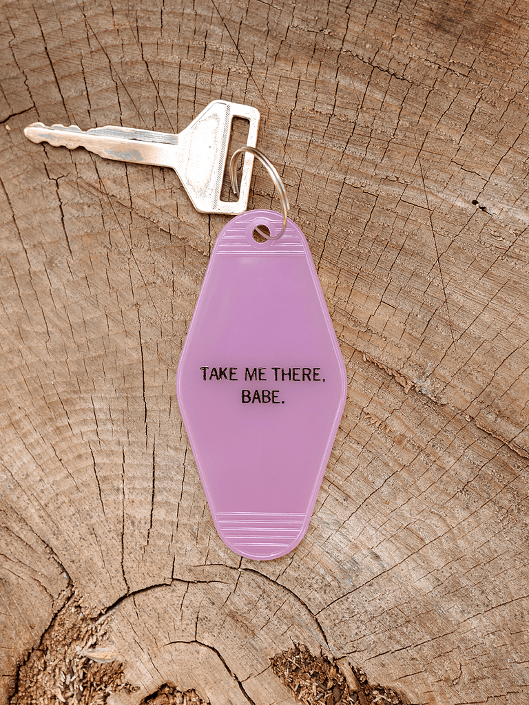 Indy Brand STUFF BABE KEY TAG