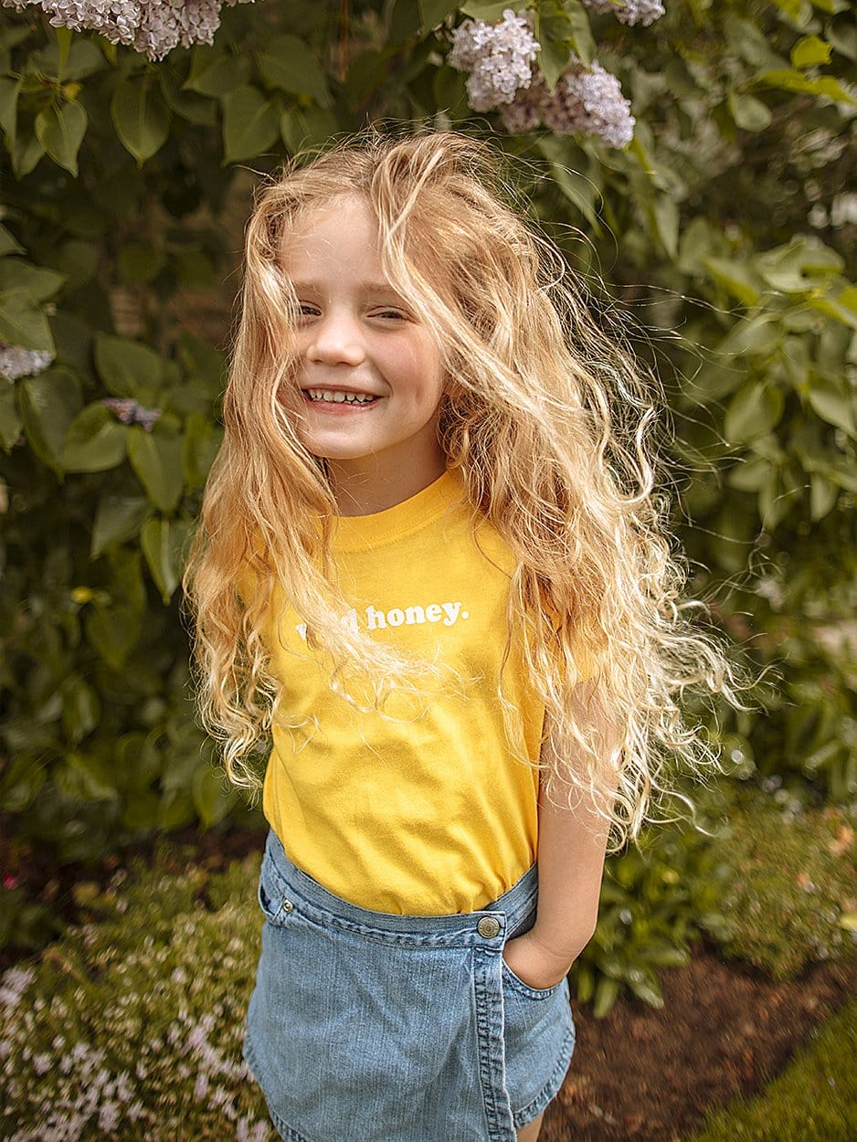 KIDS WILD HONEY TEE