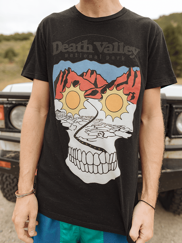 Indy Brand Clothing TEE S MENS DEATH VALLEY NATIONAL PARK TEE