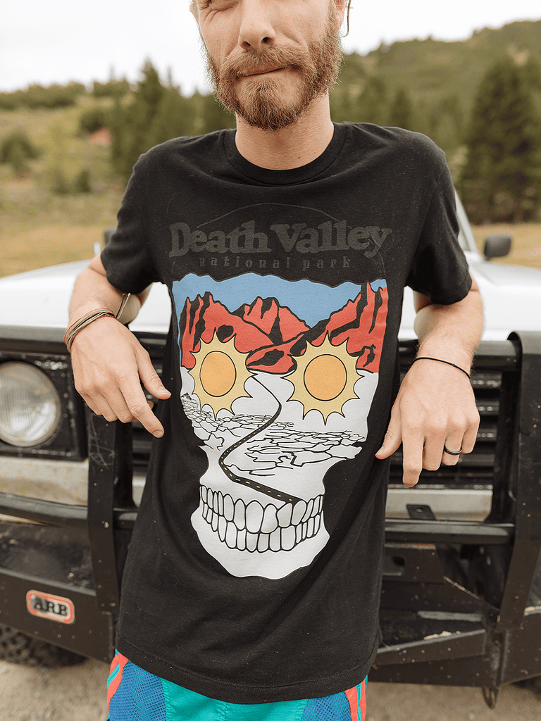 Indy Brand Clothing TEE MENS DEATH VALLEY NATIONAL PARK TEE