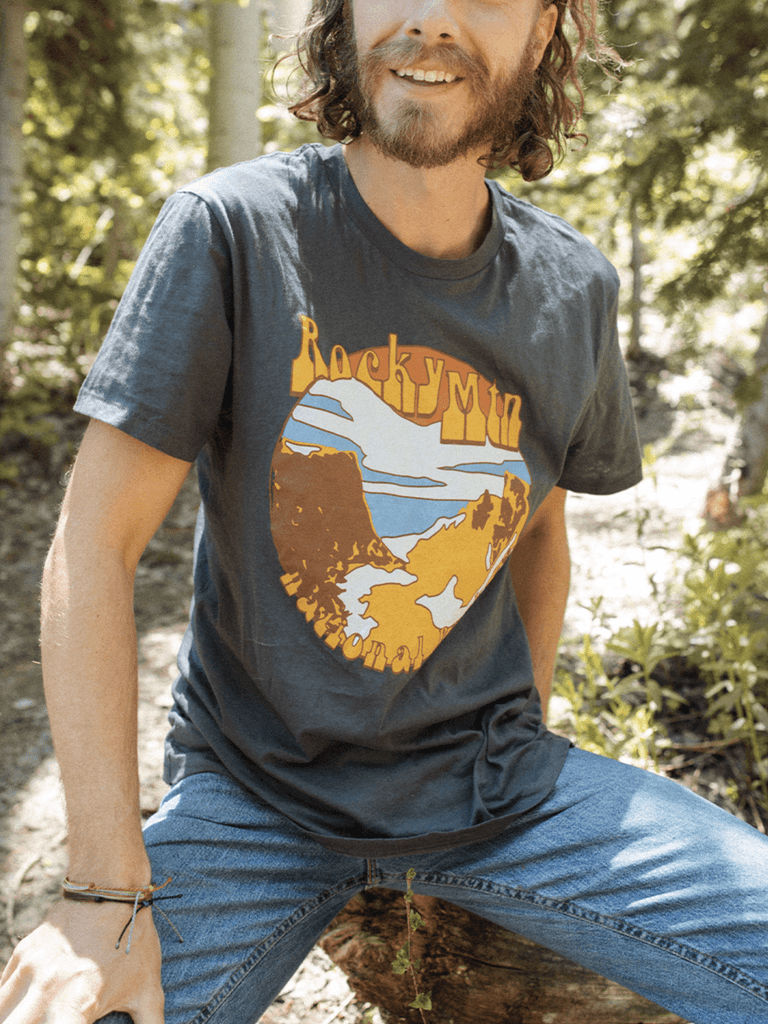 Indy Brand MENS MENS ROCKY MOUNTAIN 'ROCKER' TEE