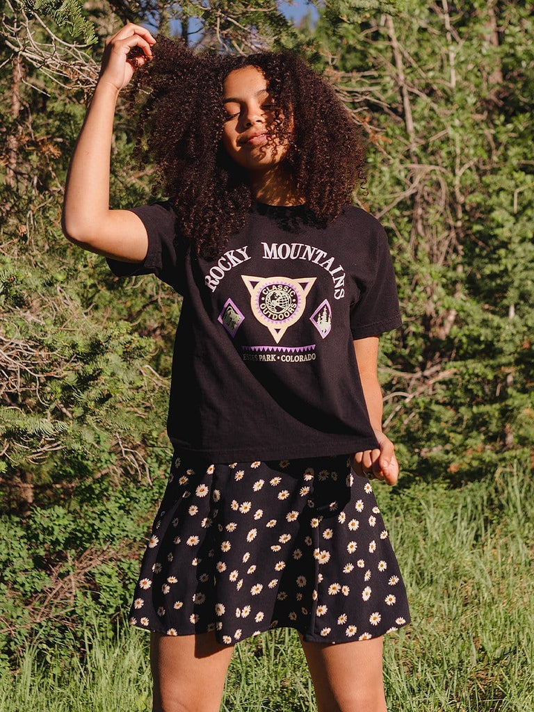 Indy Brand TEE 🦋 Rocky Mountains Tee 🦋