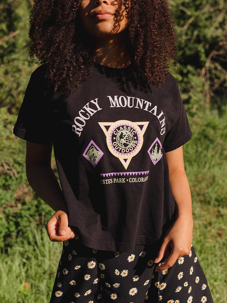 Indy Brand TEE S 🦋 Rocky Mountains Tee 🦋