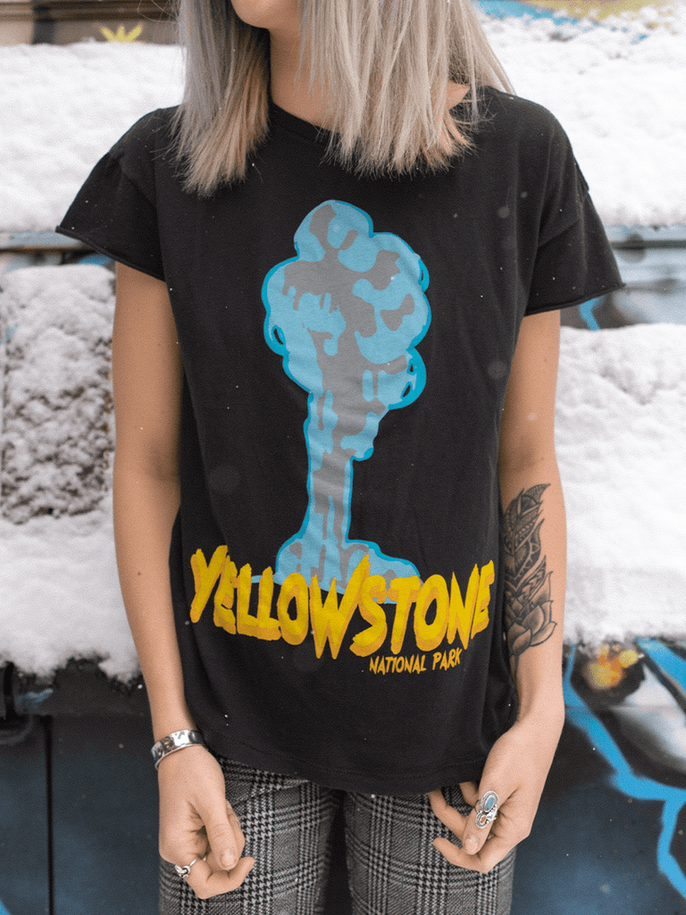 Indy Brand TEE YELLOWSTONE 'ROCKER' TEE