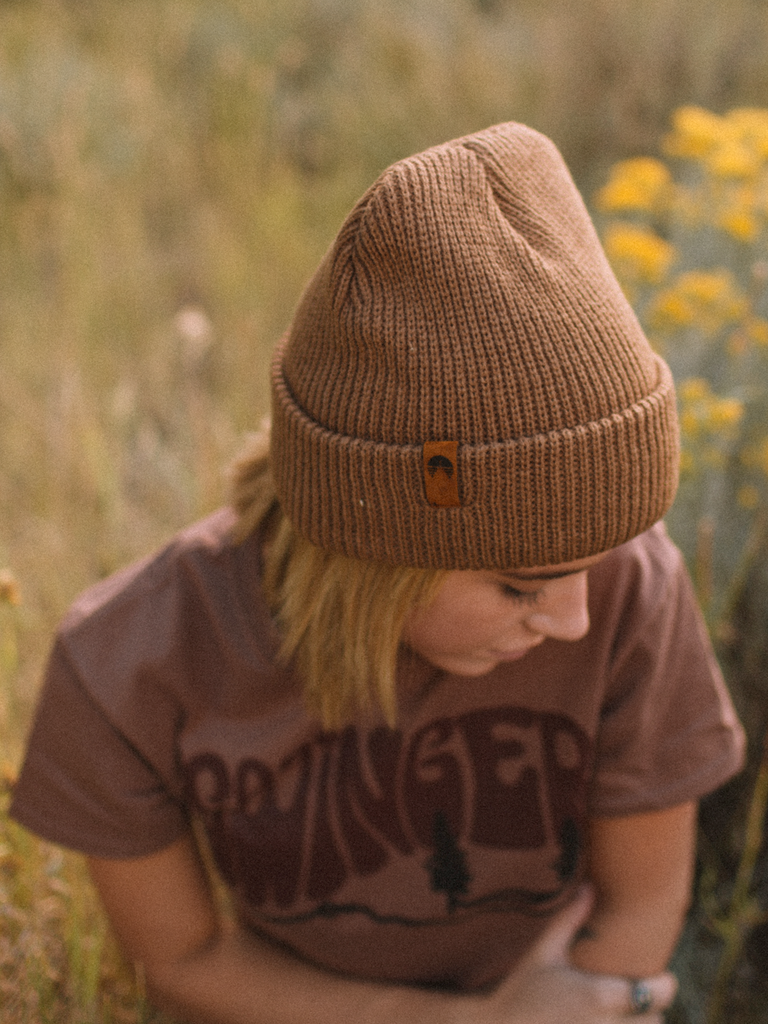 Indy Brand HATS BROWN BROWN BEANIE