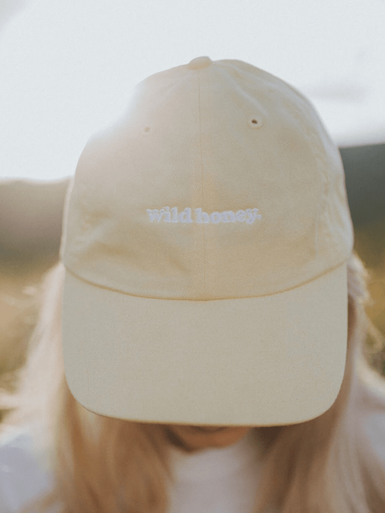 Indy Brand HATS butter WILD HONEY DAD CAP