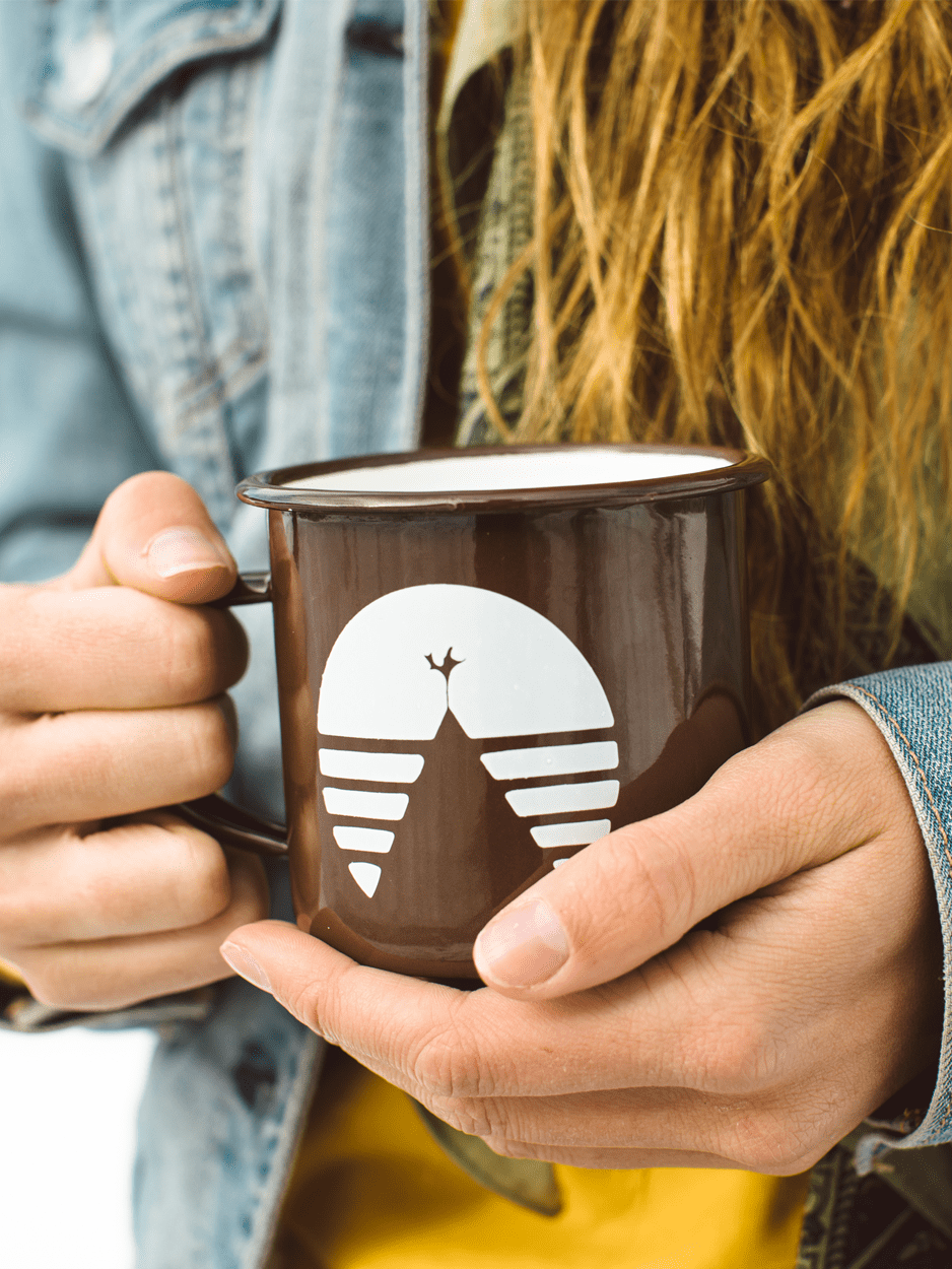 GO OUTSIDE CAMPER MUG