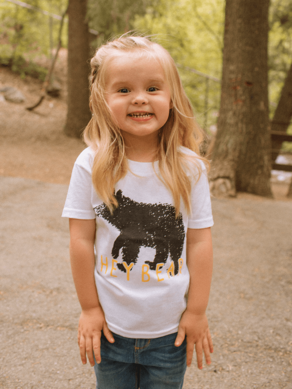KIDS HEY BEAR TEE