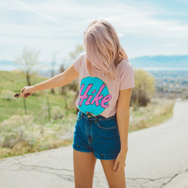 HIKE PERFECT FIT TEE | ROSE
