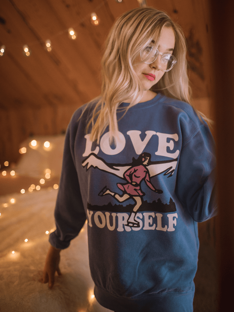 LOVE YOURSELF SWEATSHIRT