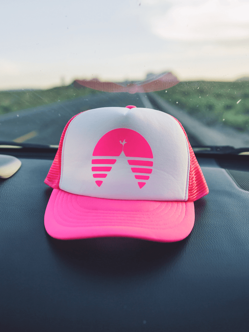 THE NEON HAT PINK