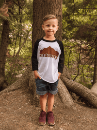 KIDS OUTDOORSY RAGLAN