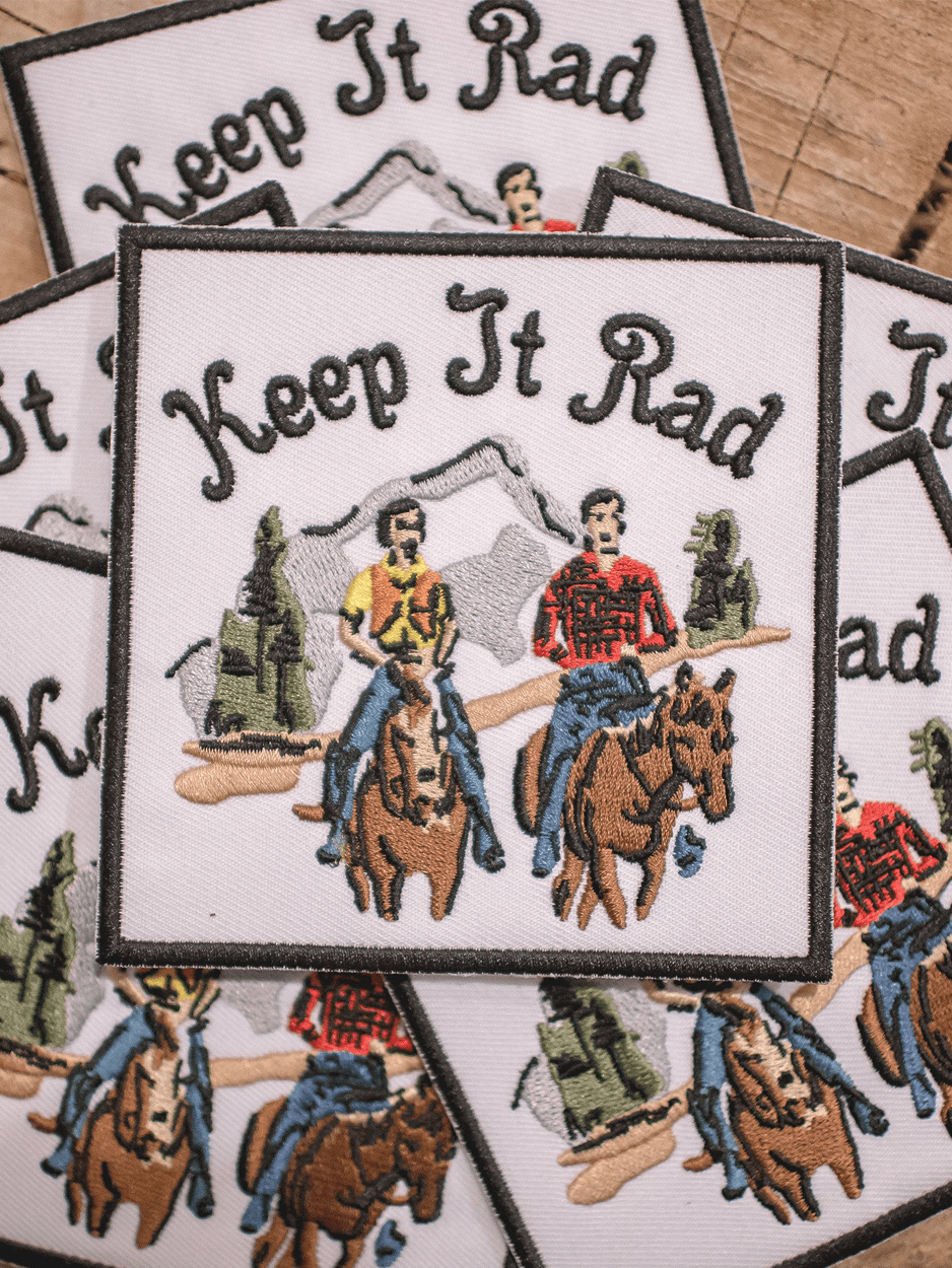 'KEEP IT RAD THROWBACK' PATCH
