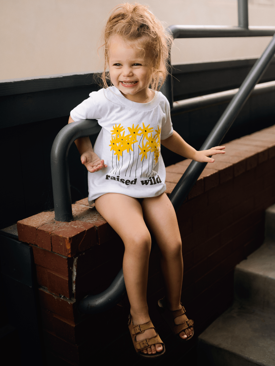 KIDS RAISED WILD TEE