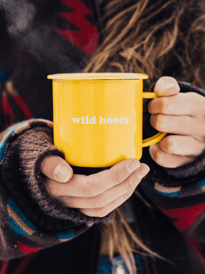 WILD HONEY CAMPER MUG