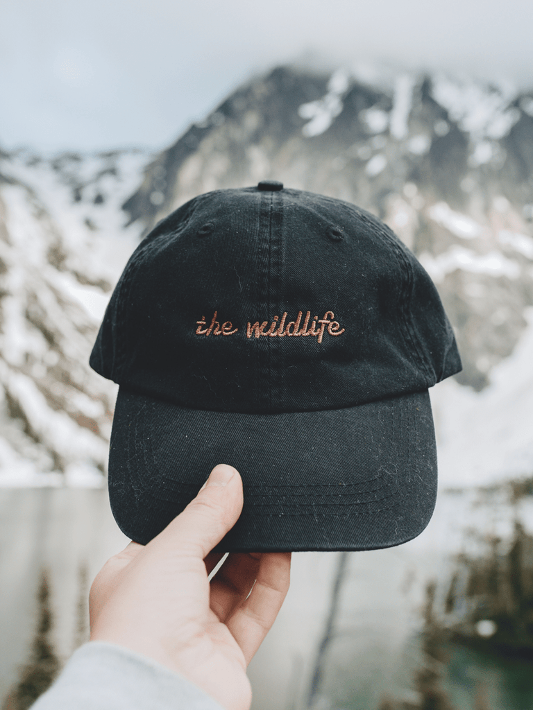 Indy Brand HATS ONE-SIZE / BLACK THE WILDLIFE DAD CAP