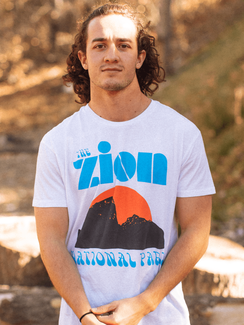 MENS ZION 'ROCKER TEE