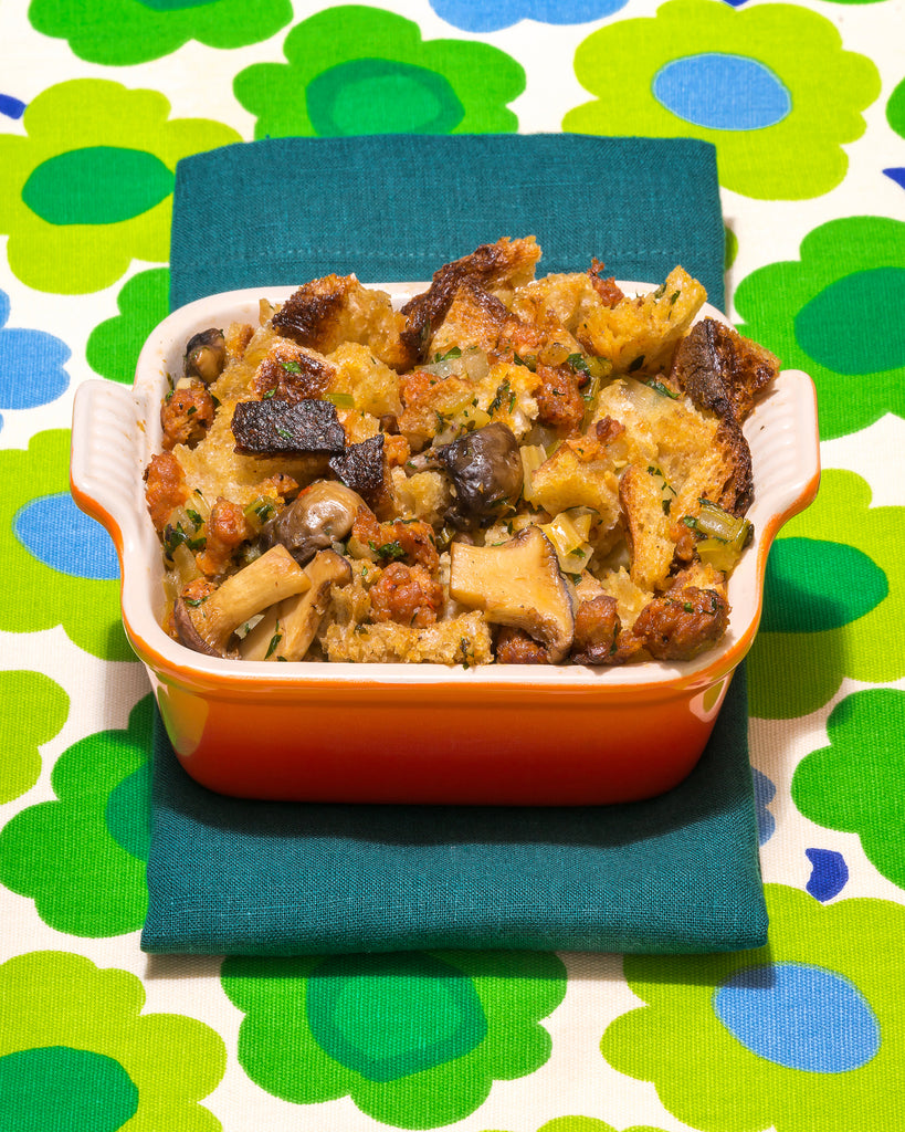 Recipe: Sausage and Mushroom Stuffing/Dressing