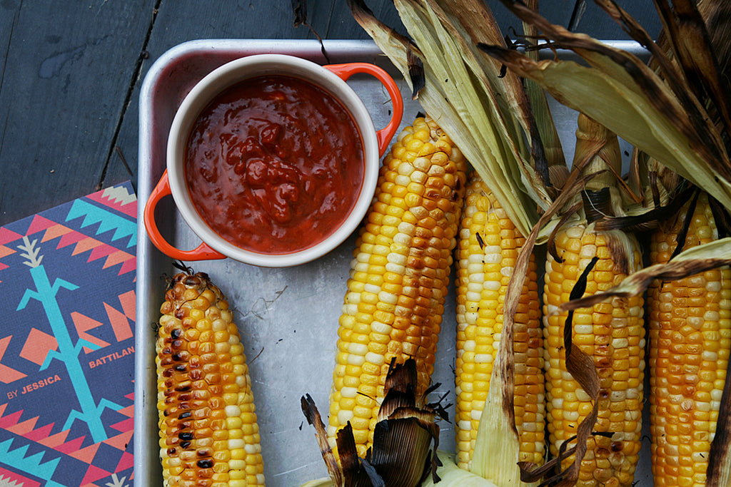 Buttered Corn on the Cob Four Ways