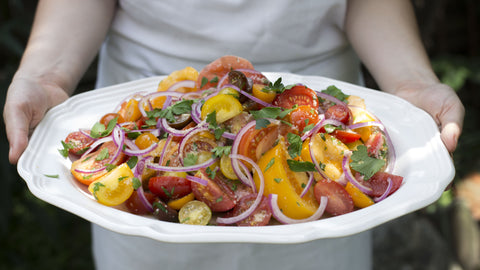 Heirloom Tomato Salad (Photo: Mackenzie Smith)