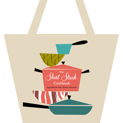 Short Stack Cookbook tote