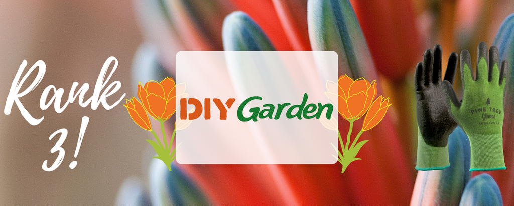 DIY Gardening Placed Our Bamboo Gloves on Spot #3 for the Best Gardening Gloves