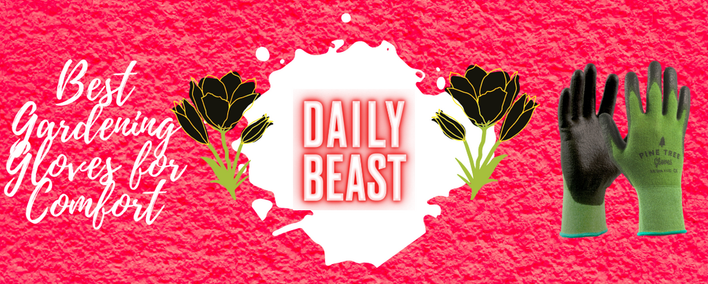 The Daily Beast Recognized our Gloves as the Best Comfortable Gardening Gloves