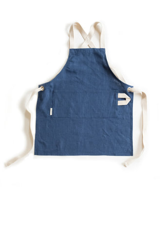The Kids Linen Apron