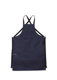 navy canvas utility apron
