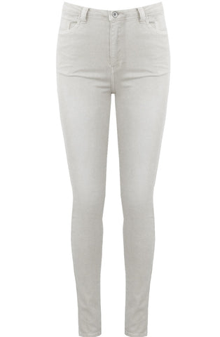White High Waisted Super Stretch Jeans