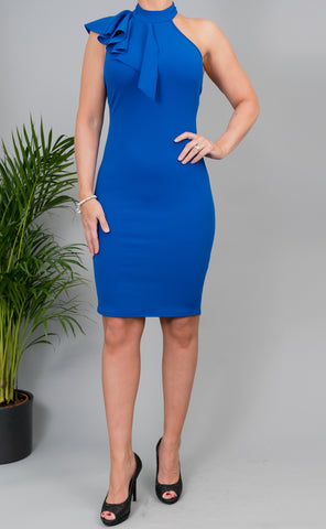 Beatrice Dress in Blue