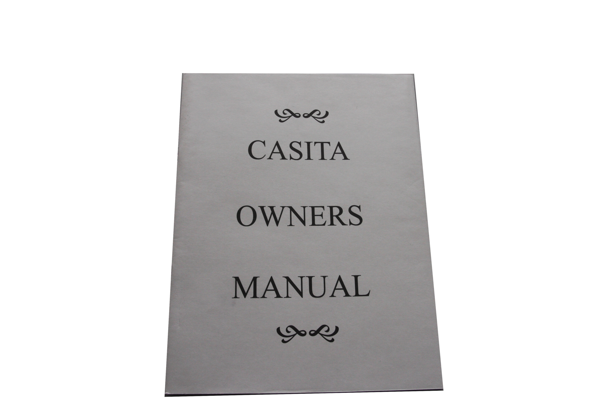 Casita Owners Manual