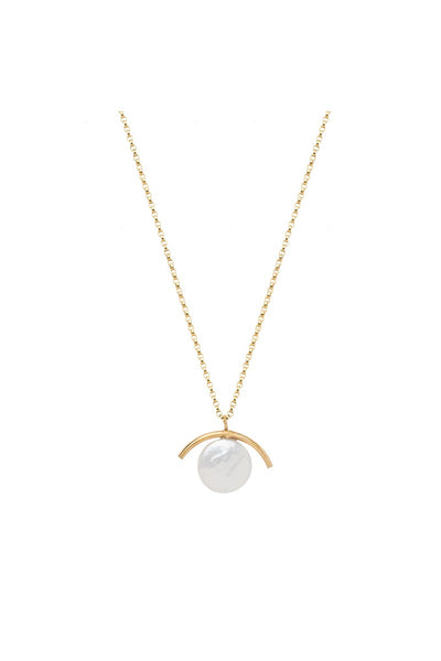 Cove Necklace Gold