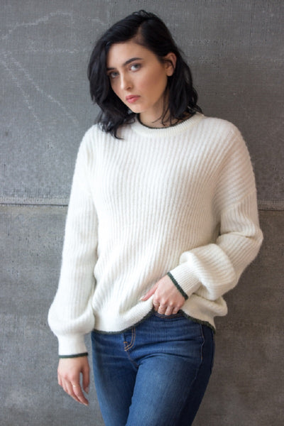 Estelle Knit Off White
