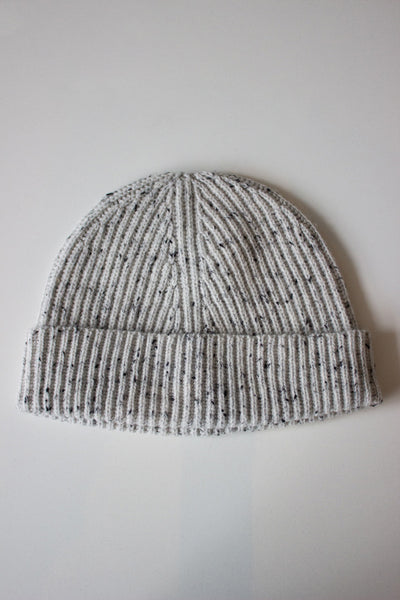 Wool Cashmere Toque Grey